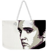 Elvis Presley Portrait Art Weekender Tote Bag