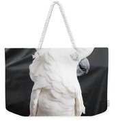 Elvis The Cockatoo II The Profile Shot Weekender Tote Bag