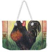 Elvis The Rooster Weekender Tote Bag