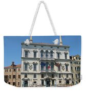 Embassy Building Venice Italy Weekender Tote Bag