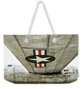 Emblem Underneath Weekender Tote Bag