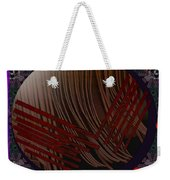 Embrace Our Earth With Love Pop Art Weekender Tote Bag