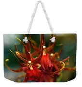 Embraced By An Orchid Weekender Tote Bag