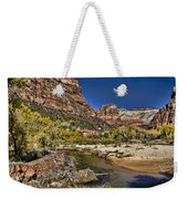 Emeral Pools Trail - Zion Weekender Tote Bag