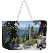 Emerald Bay Vista Weekender Tote Bag