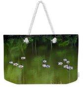 Emerald Beauty Weekender Tote Bag