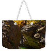 Emerald Canyon Weekender Tote Bag