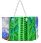 Emerald Desert Palm Springs Weekender Tote Bag