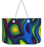 Emerald Dreams Weekender Tote Bag