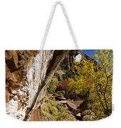Emerald Falls Zion National Park Weekender Tote Bag