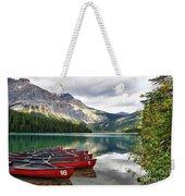 Emerald Lake Yoho National Park Weekender Tote Bag
