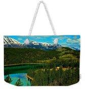Emerald Lake - Yukon Weekender Tote Bag