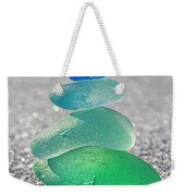 Emerald Light Weekender Tote Bag by Barbara McMahon