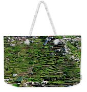 Emerald Madeira Terraces Weekender Tote Bag