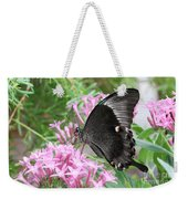 Emerald Peacock Swallowtail Butterfly #5 Weekender Tote Bag