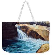 Emerald Pool Weekender Tote Bag