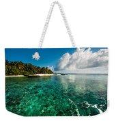 Emerald Purity. Kuramathi Resort. Maldives Weekender Tote Bag