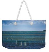 Emerald Seas Weekender Tote Bag