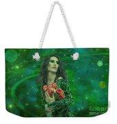 Emerald Universe Weekender Tote Bag