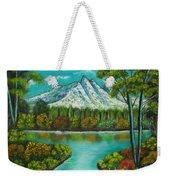 Emerald Valley Weekender Tote Bag