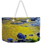 Emerald Water Weekender Tote Bag