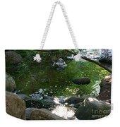 Emerald Waters Weekender Tote Bag