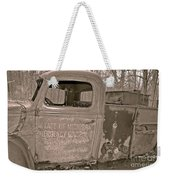Emergency Truck Weekender Tote Bag