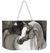 Emerging From The Darkness Weekender Tote Bag
