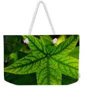 Emerging Greens Weekender Tote Bag