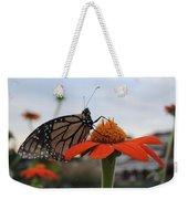 Emerging Monarch Weekender Tote Bag