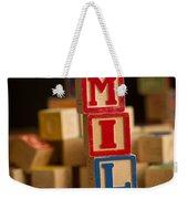 Emily - Alphabet Blocks Weekender Tote Bag