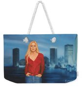 Emily  Miami Skyline Weekender Tote Bag