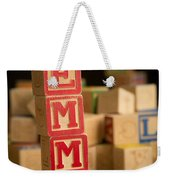 Emma - Alphabet Blocks Weekender Tote Bag
