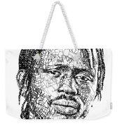 Emmanuel Jal Weekender Tote Bag