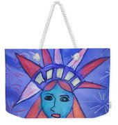 Emma's Lady Liberty Weekender Tote Bag