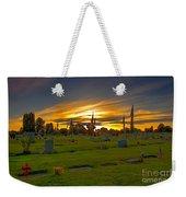 Emmett Cemetery Weekender Tote Bag