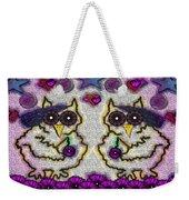 Emo Owls Weekender Tote Bag