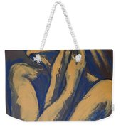 Emotional - Female Nude Portrait Weekender Tote Bag
