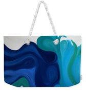 Emotional Waves Weekender Tote Bag