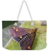 Emperor Moth Weekender Tote Bag