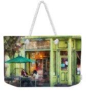 Hoboken Nj - Empire Coffee And Tea Weekender Tote Bag