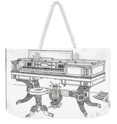 Empire Period Piano 1820 Weekender Tote Bag