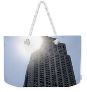 Empire State At Hign Noon Weekender Tote Bag