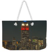 Empire State Building 911 Tribute Weekender Tote Bag