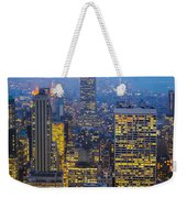 Empire State Building And Midtown Manhattan Weekender Tote Bag