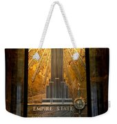Empire State Building - Magnificent Lobby Weekender Tote Bag