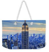 Empire State Building New York City Usa Weekender Tote Bag