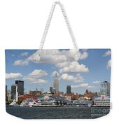 Empire State From The Water Weekender Tote Bag