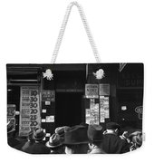 Employment Agency, 1937 Weekender Tote Bag