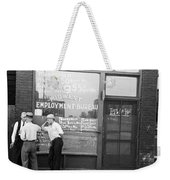 Employment Bureau, 1937 Weekender Tote Bag